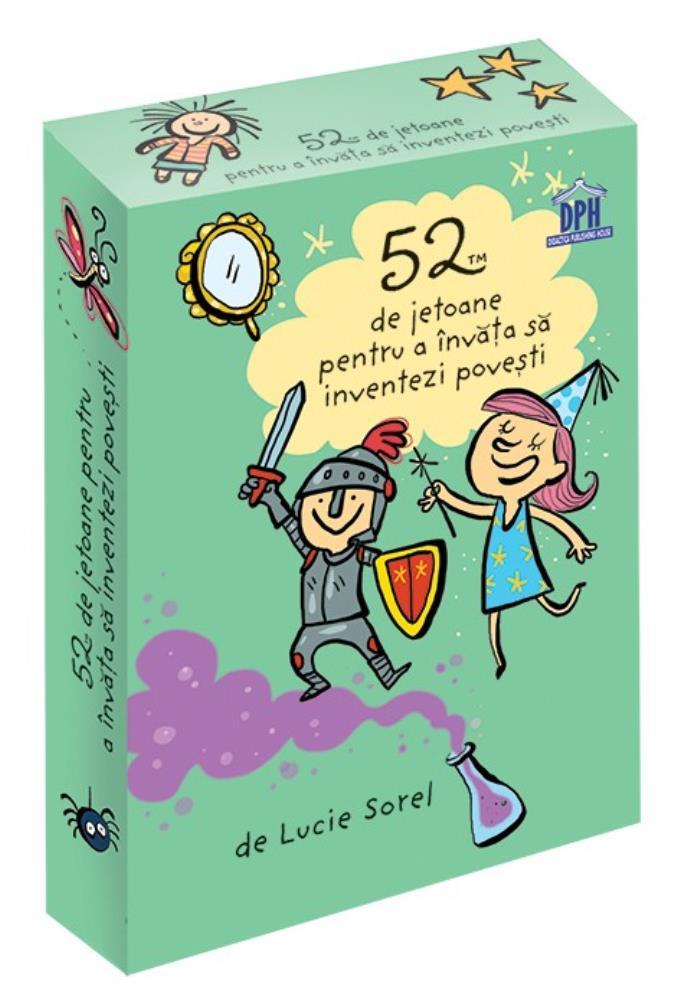 52 de jetoane pentru a invata sa inventezi povesti
