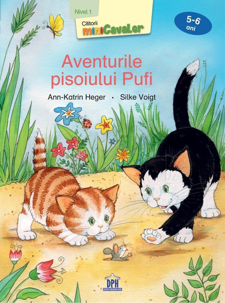 Aventurile pisoiului Pufi - Nivel 1 - 5-6 ani