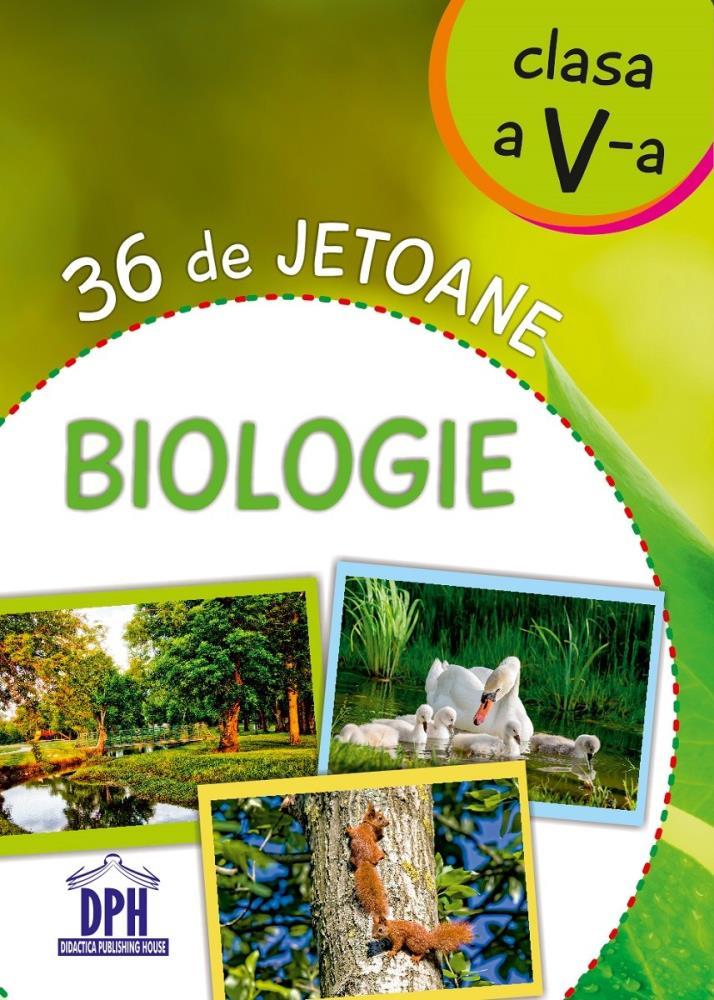 Biologie - 36 de jetoane - Clasa a V- a
