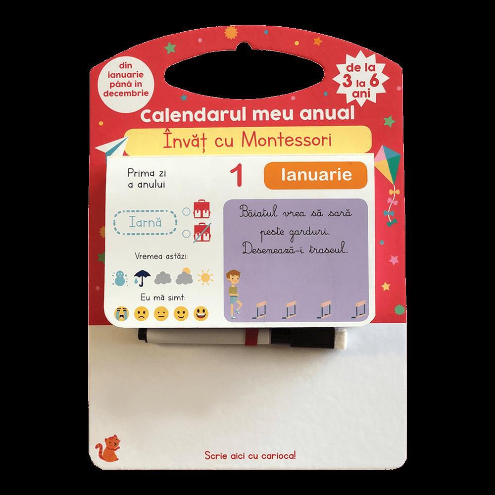 Invat cu Montessori - Calendarul meu anual