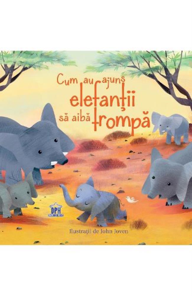 Cum au ajuns elefantii sa aiba trompa