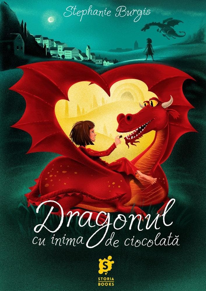 Dragonul cu inima de ciocolata
